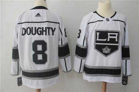 adidas nhl los angeles kings #8 Doughty white jersey