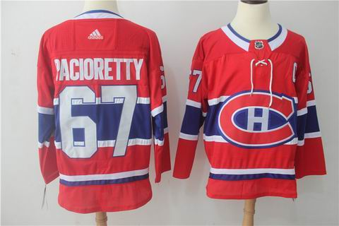 adidas nhl montreal canadiens #67 Pacioretty red jersey