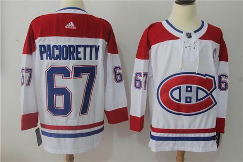 adidas nhl montreal canadiens #67 Pacioretty white jersey