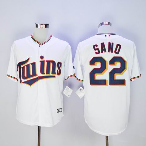 mlb Minnesota Twins #22 Sano white jersey