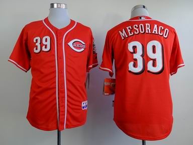 mlb Reds #39 mesoraco red Jersey