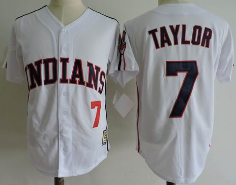 mlb cleveland indians #7 Taylor White jersey