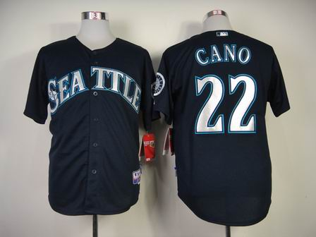 mlb seattle mariners 22 CANO blue jersey