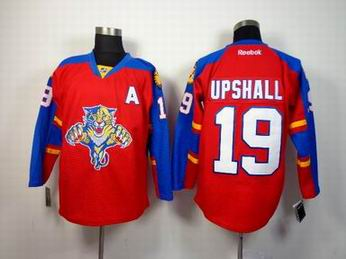 nhl Florida Panthers 19 Upshall red jersey A patch