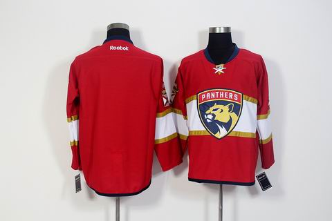nhl Florida Panthers blank red jersey