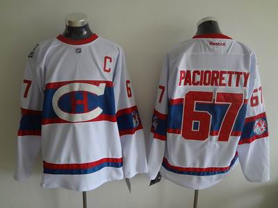 nhl Montreal Canadiens 67 Pacioretty white jersey