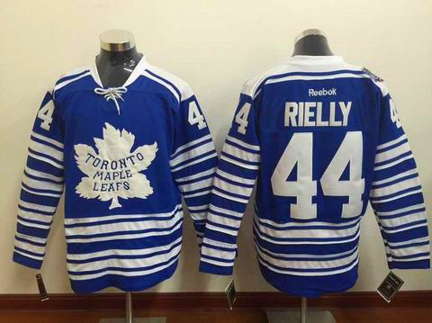 nhl Toronto Maple Leafs #44 Rielly blue jersey