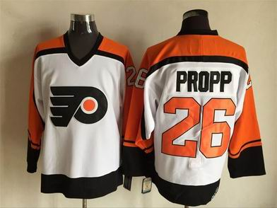 nhl calgary flames #26 Propp white jersey