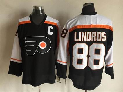 nhl calgary flames #88 Lindros black  jersey