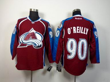 nhl colorado avalanche 90 O'Reilly red jersey