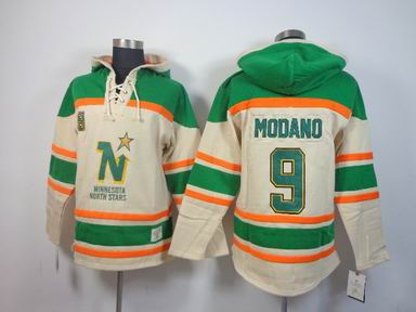 nhl dallas stars #9 Modano white hooded sweatshirts