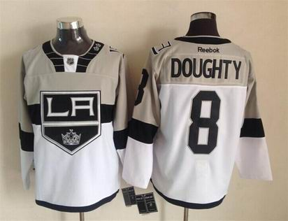 nhl los angeles kings #8 Doughty white jersey