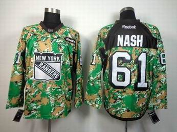 nhl new york rangers 61 Nash camo jersey