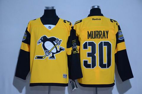 nhl pittsburgh penguins #30 Murray 2017 winter classic jersey