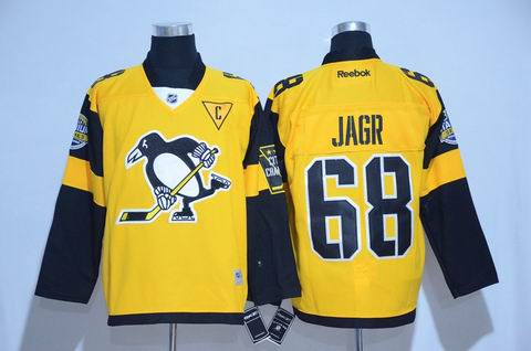 nhl pittsburgh penguins #68 Jagr 2017 winter classic jersey