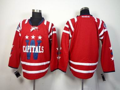 nhl washington capitals blank red jersey