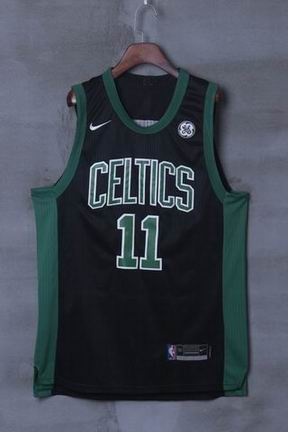 nike NBA Boston Celtics #11 IRVING black jersey
