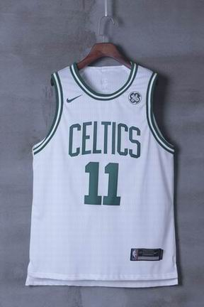 nike NBA Boston Celtics #11 IRVING white jersey