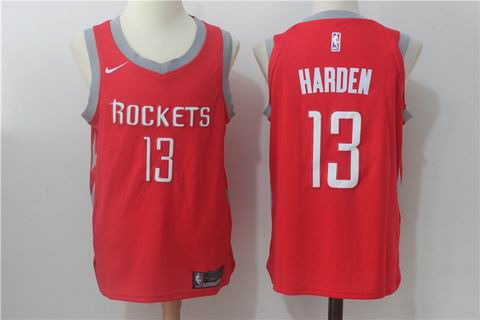 nike NBA Houston Rockets #13 Harden red jersey