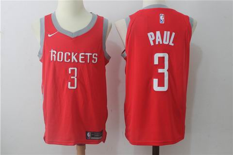 nike NBA Houston Rockets #3 PAUL red jersey