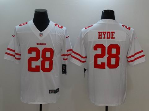 nike nfl 49ers #28 HYDE Vapor Untouchable Limited Jersey