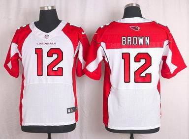 nike nfl Arizona Cardinals #12 John Brown white elite jersey