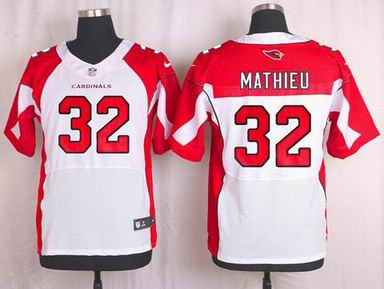 nike nfl Arizona Cardinals #32 Tyrann Mathieu white elite jersey