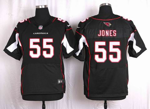 nike nfl Arizona Cardinals #55 Chandler Jones black elite jersey