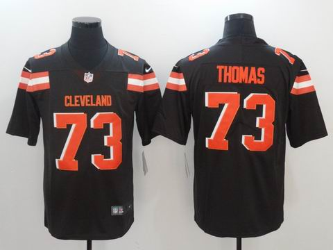 nike nfl Browns #73 Thomas Vapor Untouchable Limited Jersey