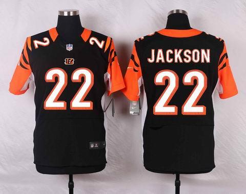 nike nfl Cincinnati Bengals #22 William Jackson black elite jersey