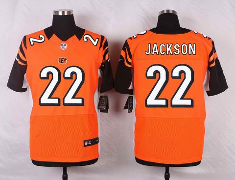 nike nfl Cincinnati Bengals #22 William Jackson orange elite jersey