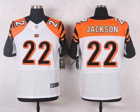 nike nfl Cincinnati Bengals #22 William Jackson white elite jersey