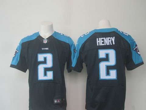 nike nfl Tennessee Titans #2 Henry blue elite jersey
