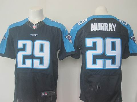 nike nfl Tennessee Titans #29 DeMarco Murray blue elite jersey