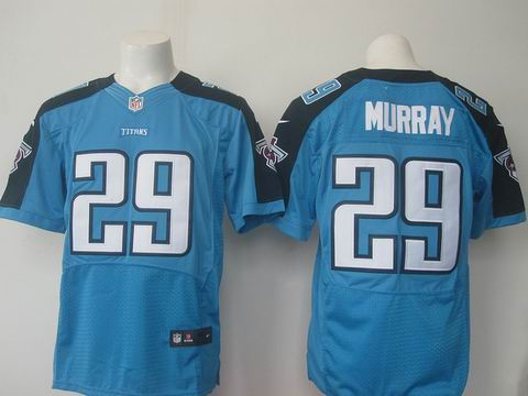 nike nfl Tennessee Titans #29 DeMarco Murray light blue elite jersey