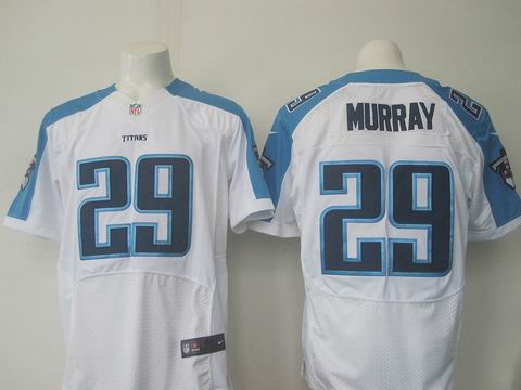 nike nfl Tennessee Titans #29 DeMarco Murray white elite jersey