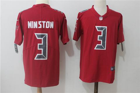nike nfl buccaneers #3 Winston red rush limited jersey