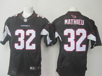 nike nfl cardinals #32 Mathieu black elite jersey