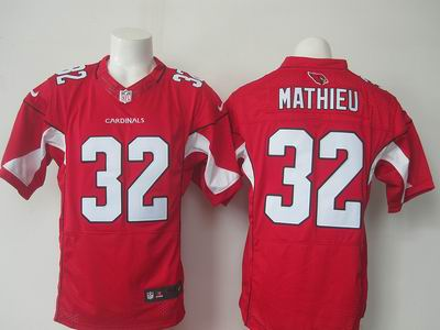 nike nfl cardinals #32 Mathieu red elite jersey