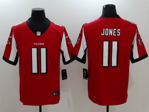 nike nfl faclons #11 Jones rush II red limited jersey