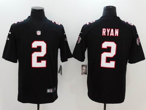 nike nfl faclons #2 Ryan rush II black limited jersey
