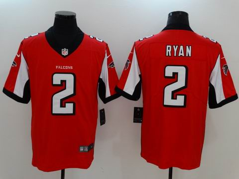nike nfl faclons #2 Ryan rush II red limited jersey