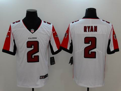 nike nfl faclons #2 Ryan rush II white limited jersey
