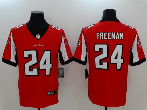 nike nfl faclons #24 Freeman rush II red limited jersey