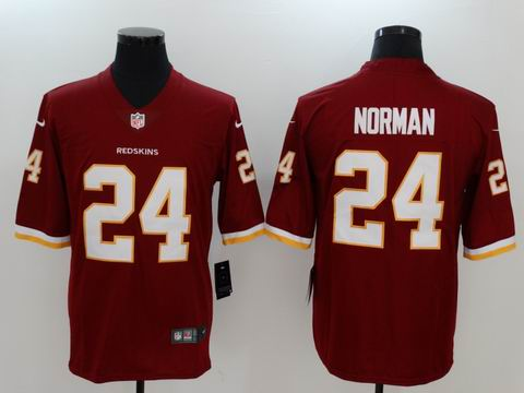 nike nfl redskins #24 Norman rush II red jersey