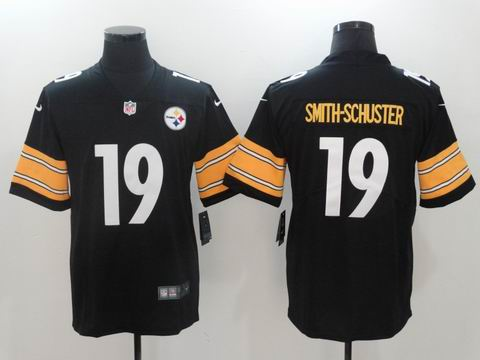 nike nfl steelers #19 SMITH-SCHUSTER rush II Limited Jersey black