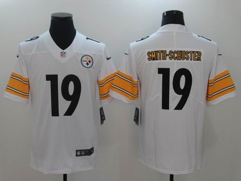 nike nfl steelers #19 SMITH-SCHUSTER rush II Limited Jersey white