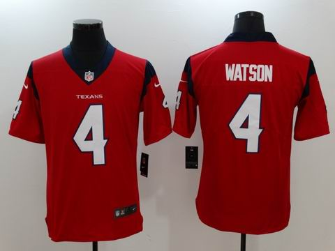 nike nfl texans #4 WATSON red Vapor Untouchable limited jersey
