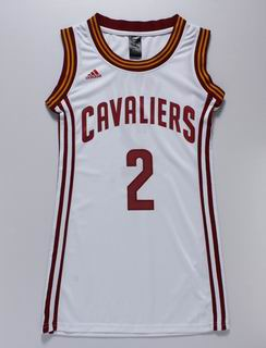 women nba Cleveland Cavaliers #2 Irving white jersey